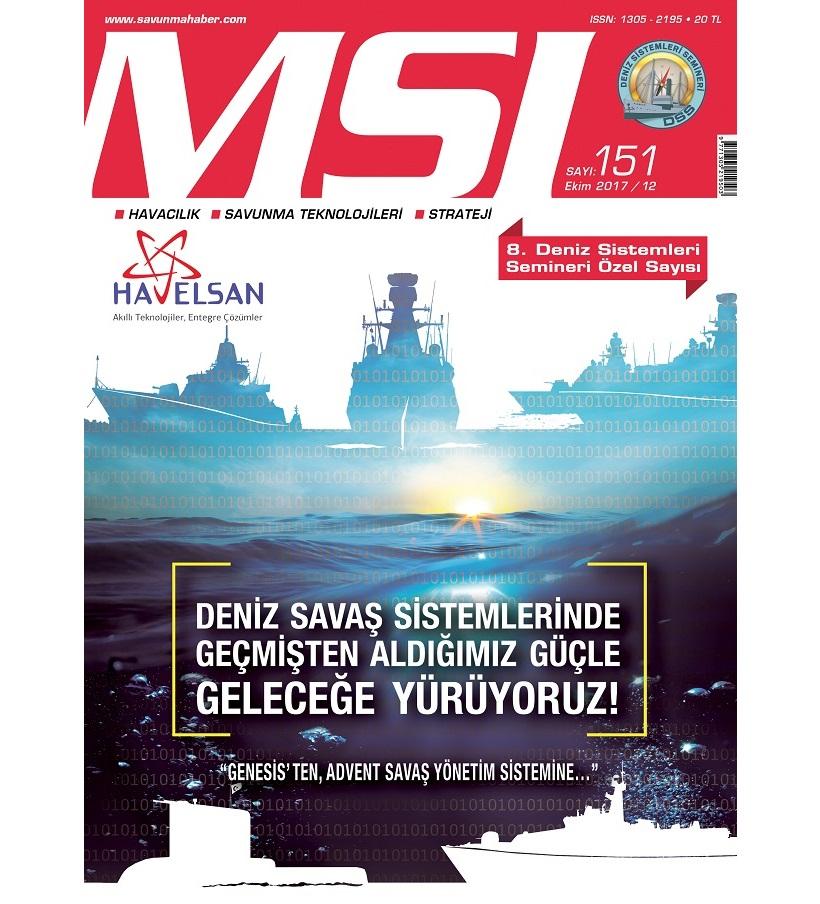 Sayı: EKİM 2017/151 (8'inci Deniz Sistemleri Semineri Özel Sayısı)