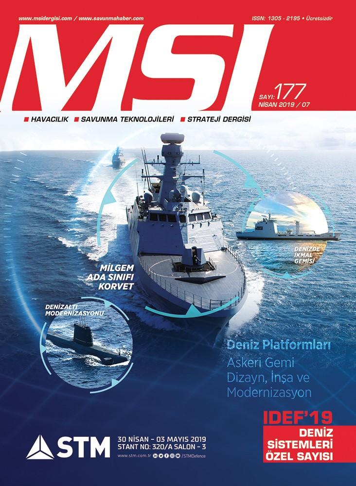IDEF'19 Deniz Sistemleri Özel Sayısı (Nisan 2019 / 177)