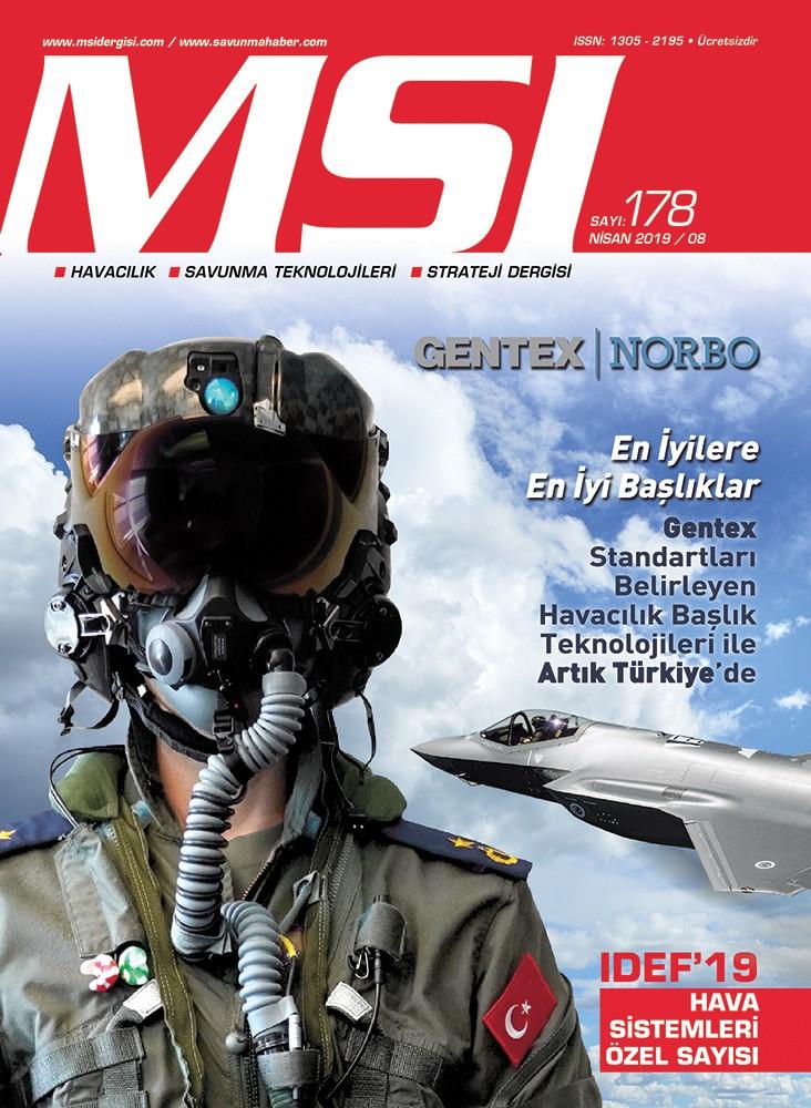 IDEF'19 Hava Sistemleri Özel Sayısı (Nisan 2019 / 178)