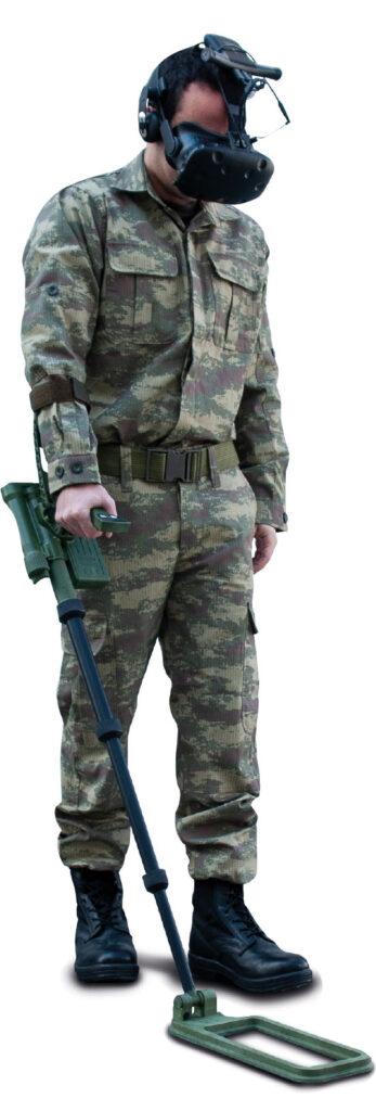 MERGEN PARKUR ile eğitim yapan bir asker