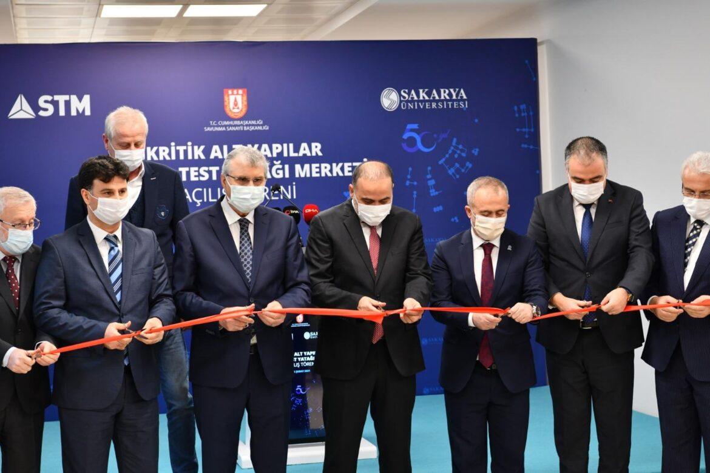 Kritik Altyapılar Ulusal Test Yatağı Merkezi'nin Açılışı