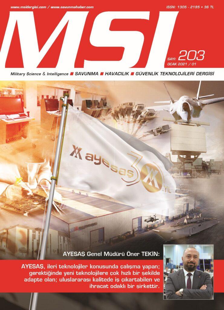 MSI Dergisi Sayı 203 Kapak